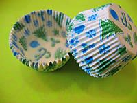 Бумажные формы Елочки/Снежинки