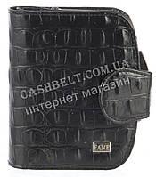 Маленький женский кожаный кошелек высокого качества FANE art. 131 S-301 черный