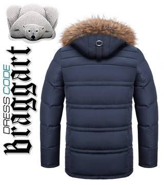 Куртка с опушкой на капюшоне, фото 2