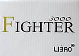 Катушка для спиннинга Libao Fighter 3000, 3+1 подш., фото 3