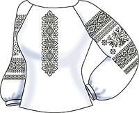 Заготовка вышивки бисером Женская сорочка на льне СВЖБ-50