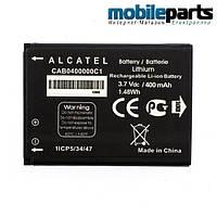 Оригинальный аккумулятор для ALCATEL One Touch MIN I1010D 400mAh