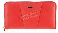 Стильный прочный женский кожаный кошелек барсетка высокого качества  SALFEITE art. 506548L красный, фото 1