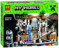 Конструктор Майнкрафт/Minecraft Шахта Bela 10179, 926 деталей