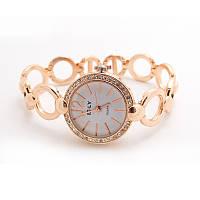 Часы женские позолоченные «Королева времени»