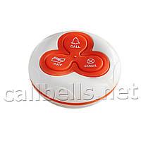Кнопка вызова медперсонала трехкнопочная водозащищенная R-333(Red,Blue) RECS USA