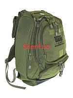 Рюкзак 40 литров многофункциональный US Backpack National Guard Olive Drab, Max Fuchs  30353B