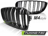 Решетка радиатора ноздри BMW F32 F33 стиль M4 черный мат