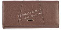 Стильный прочный женский кожаный кошелек высокого качества  SALFEITE art. 506536L коричневый, фото 1