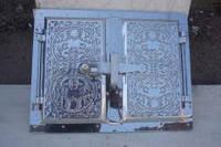 Дверца (ПР) для печки (алюминиевое литье)