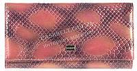 Лаковый прочный женский кожаный кошелек высокого качества Bodenschatz art. 2029-81 розовый, фото 1
