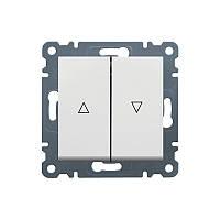 """Выключатель для жалюзи """"Контактор"""" Lumina-2, белый, 10АХ / 230В"""