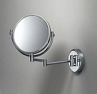 Увеличительное настенное зеркало выдвижное Sonia Испания хром