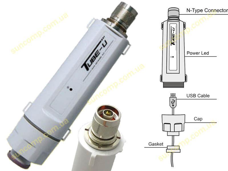 Беспроводной адаптер WIFI ALFA Tube-U(G) 2.4 GHz 802.11g Outdoor Long