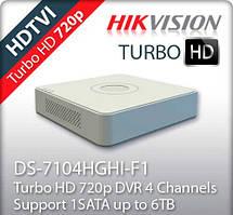 Turbo HD видеорегистратор DS-7104HGHI-F1