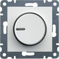 Светорегулятор поворотный Lumina-2, белый, 60-600 Вт