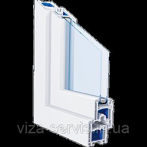 Окно профиль Trocal - 3 камеры