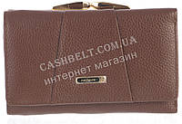 Небольшой прочный женский кожаный кошелек высокого качества  SALFEITE art. 506103L коричневый, фото 1