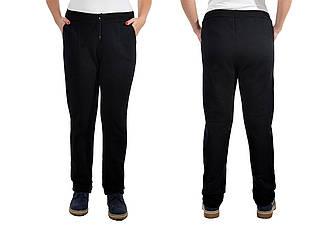 Женские теплые трикотажные брюки. сезон: зима