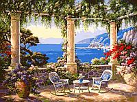 Картина по номерам Turbo Сад у моря VP010