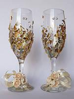 Свадебные бокалы «Золото»