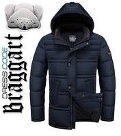 Куртка мужская с теплым капюшоном