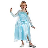Карнавальный костюм принцесса Эльза Холодное сердце Disney's Frozen Elsa Snow Queen Gown Classic  7-8 лет