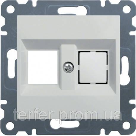 Панель двойная для RJ12 / RJ45 Lumina-2, белая