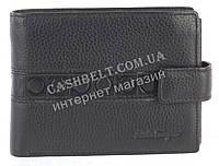 Вместительный стильный кожаный мужское портмоне из мягкой кожи Salvatore Ferragamoart. SF81-056A черный