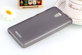 Чехол Lenovo A plus / A+ / A1010A20 силикон TPU серый