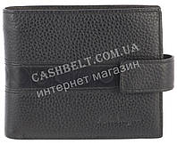 Вместительный стильный кожаный мужское портмоне из мягкой кожи Salvatore Ferragamoart. SF81-594A черный, фото 1