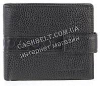 Вместительный стильный кожаный мужской кошелек из мягкой кожи Salvatore Ferragamoart. SF81-591A черный