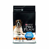 Purina Pro Plan  Adult Large Robust  14кг+4 кг в подарок-корм для собак крупных пород с курицей