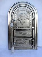 Дверца для печи и барбекю Лев Сомалийский, дверка печная