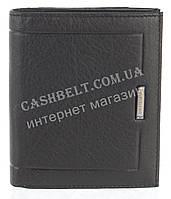 Небольшой стильный кожаный мужской кошелек из мягкой кожи Loui Vearner art. LOU109-520A черный, фото 1