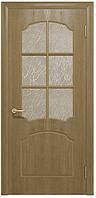 Двери межкомнатные Ваш Стиль Корона ПО светлый орех