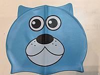 Шапочка детская для плавания силиконовая, фото 1