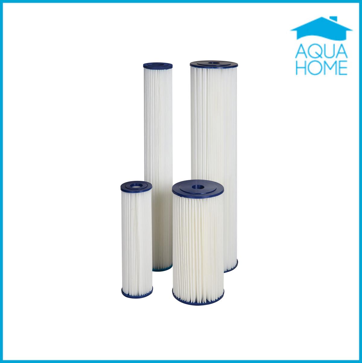 Картридж для промывного фильтра 10ВВ, 5 и 20 микрон Aquafilter  FCCEL5M10B - Аквадом  фильтры для очистки воды,насосы для воды, увлажнители,отопление,химия для бассейнов в Харькове