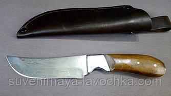 Нож охотничий ОХОТНИК. Недорого качественный нож Спутник. Оригинальные фото. Чехол в подарок