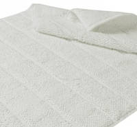 Хлопковый коврик для ванной с антибактериальной защитой HANIM WHITE 60x95