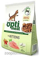 Корм для котят Optimeal (Оптимил) Защита иммунитета с курицей, 4 кг