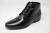 Мужские ботинки классические на меху