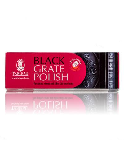 Чорна поліроль для камінних решіток Black Grate Polish