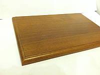 Плакетка (подложка для диплома) MDF 20x30 (орех лесной светлый)