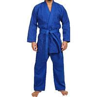 Кимоно дзюдо. Цвет синий. Рост 140., фото 1