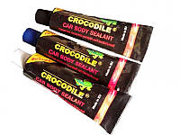 Крокодил  герметик полиуретановый черный 60мл CROCODILE