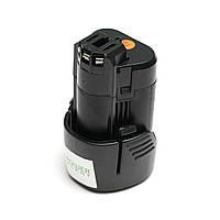 Аккумулятор PowerPlant для шуруповертов и электроинструментов BOSCH GD-BOS-10.8 10.8V 2Ah Li-Ion
