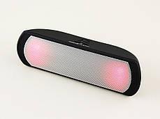 Светодиодная портативная колонка Neeka NK-BT802L Bluetooth, фото 3