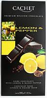 """Бельгийский шоколад Cachet 57% """"Лимон И Перец"""""""