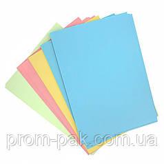Набор цветной бумаги А4  г/м² 80 пастель